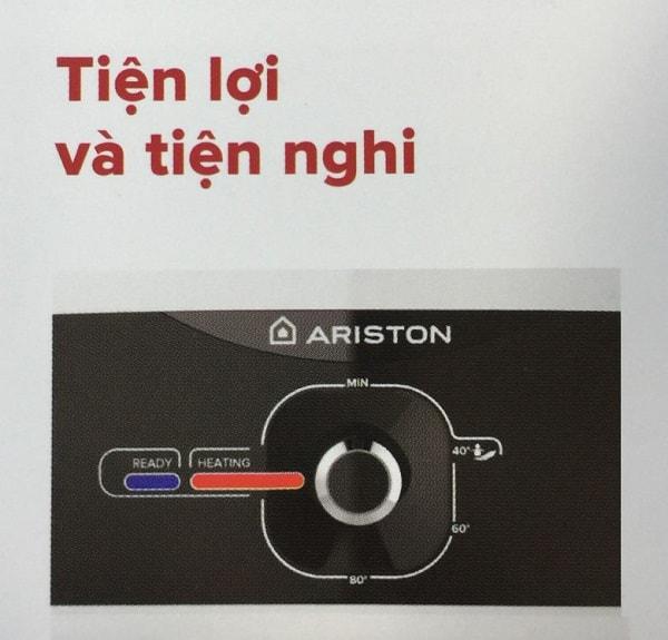 Bình nóng lạnh Ariston 20L SLIM2 20 RS tiện lợi và tiện nghi