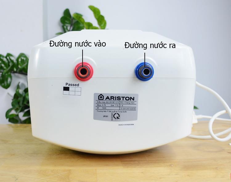 Bình nóng lạnh Ariston 6L AN LUX 6 BE 1.5 PE