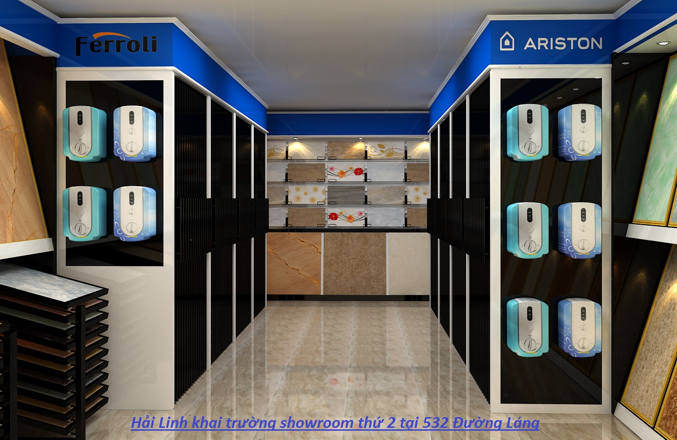 Showroom Hải Linh địa chỉ uy tín cho người tiêu dùng lựa chọn bình nóng lạnh Ariston