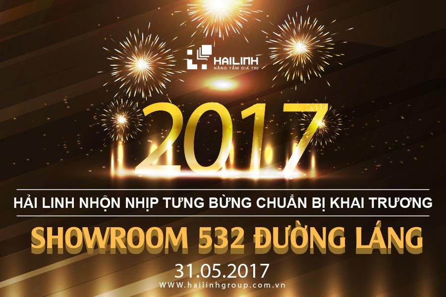 Sôi động khai trương showroom Hải Linh