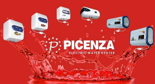 Binh nóng lạnh Picenza - Thương hiệu đứng thứ 3 tại thị trường Việt