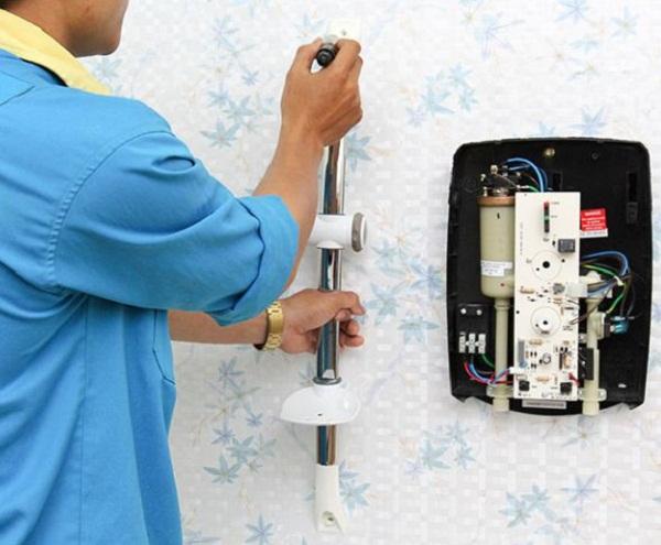 hướng dẫn lắp bình nước nóng trực tiếp an toàn