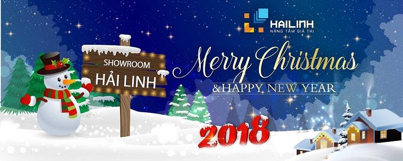 Đại lý Ariston Hải Linh gửi lời chúc giáng sinh và năm mới 2018