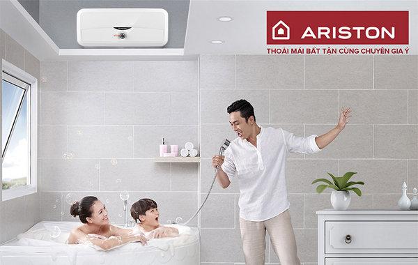 Bình nóng lạnh Ariston tích hợp nhiều công nghệ hiện đại
