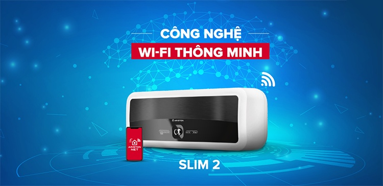 Binh nong lanh Ariston Wifi